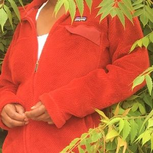 Red Patagonia sweater